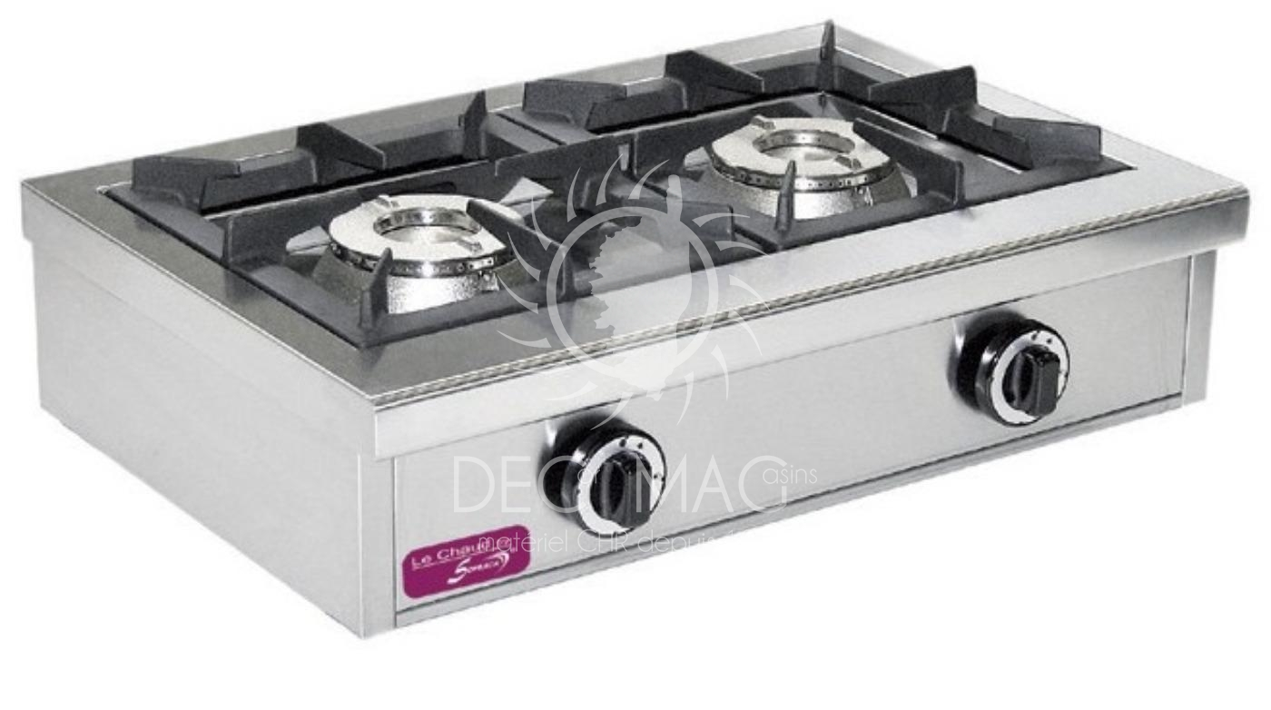 e404e634be311b Decor Magasin   vente Réchaud Gaz 2 Feux 13KW - Snack en Corse
